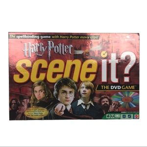 Scene It Harry Potter DVD Board Game Complete